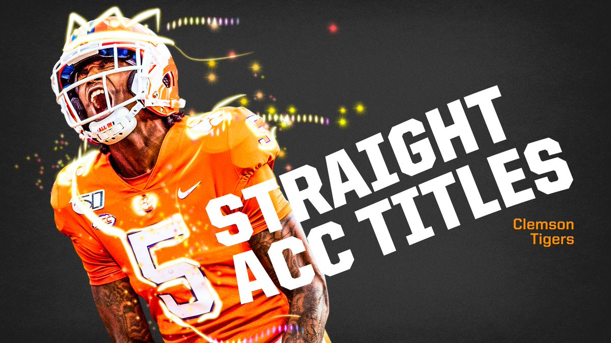 The first team in FBS history to win  straight conference championship games: @ClemsonFB <br>http://pic.twitter.com/vHLyUVAi2Z
