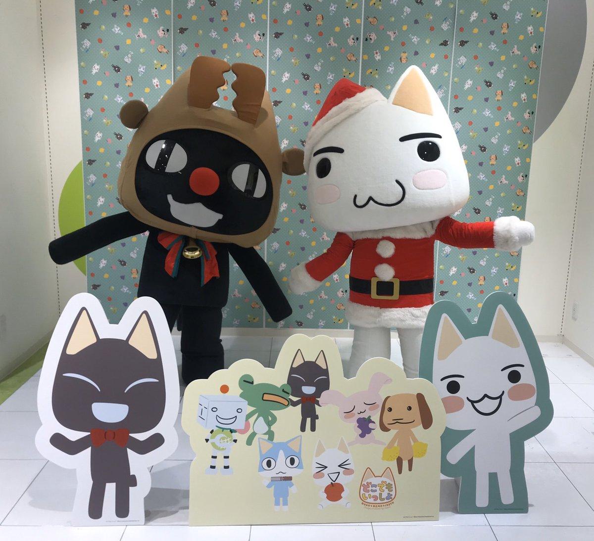 RT @toro_manager: 新宿マルイアネックス6F「どこでもいっしょパティオ」で生トロ・生クロのグリーティング行っています〜! クリスマス衣装で登場です♪♪  #どこでもいっしょ https://t.co/0hgaZLMVC3
