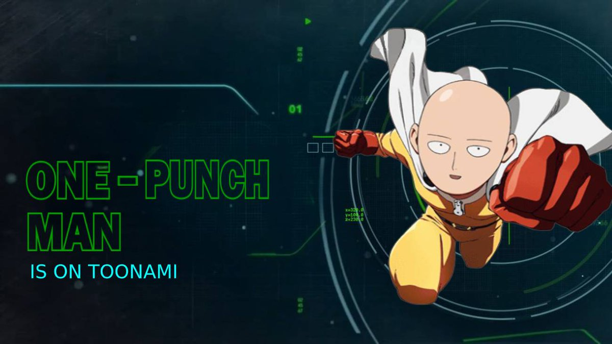 Replying to @AnimeWithRJ: An All New #OnePunchMan Starts Now! On #Toonami