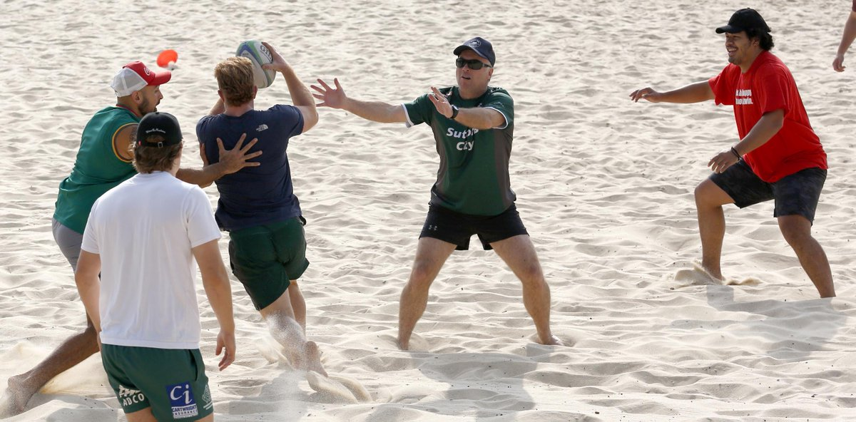 @gallopinggreens out and about at #coogeebeach #summertraining #oneclub #coogeeslsc #randwickrugby  https:// photos.app.goo.gl/EjrvrSjmaw3zu4 9M8  … <br>http://pic.twitter.com/XTUBRDanSi