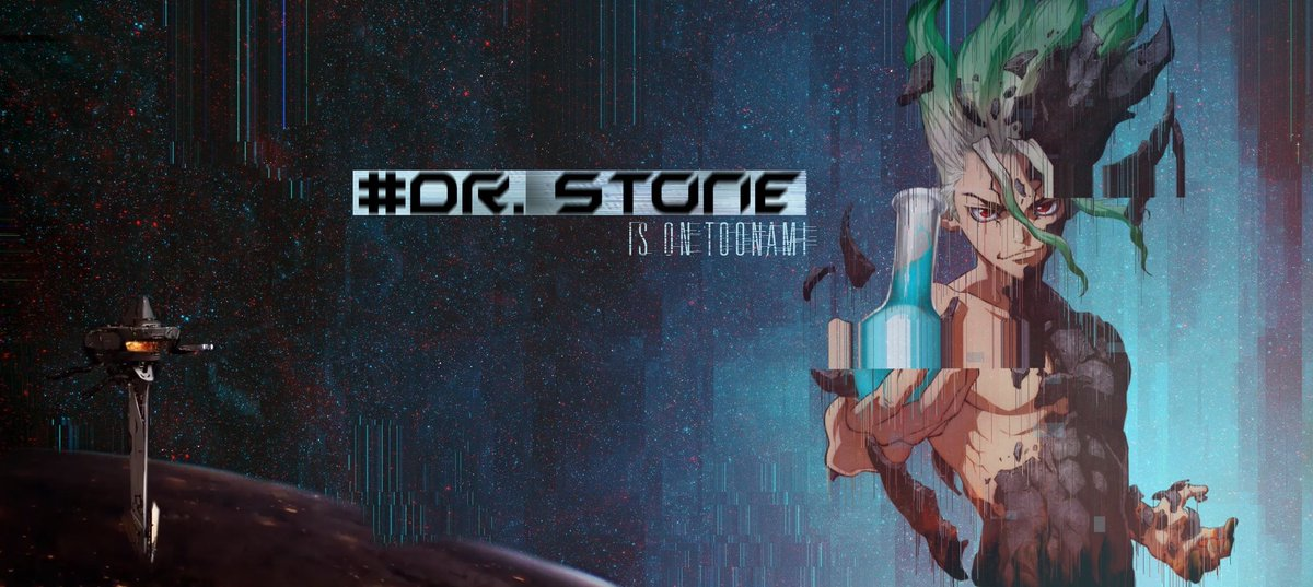 Replying to @ToonamiNews: An all new episode of #DrStone is on Toonami.