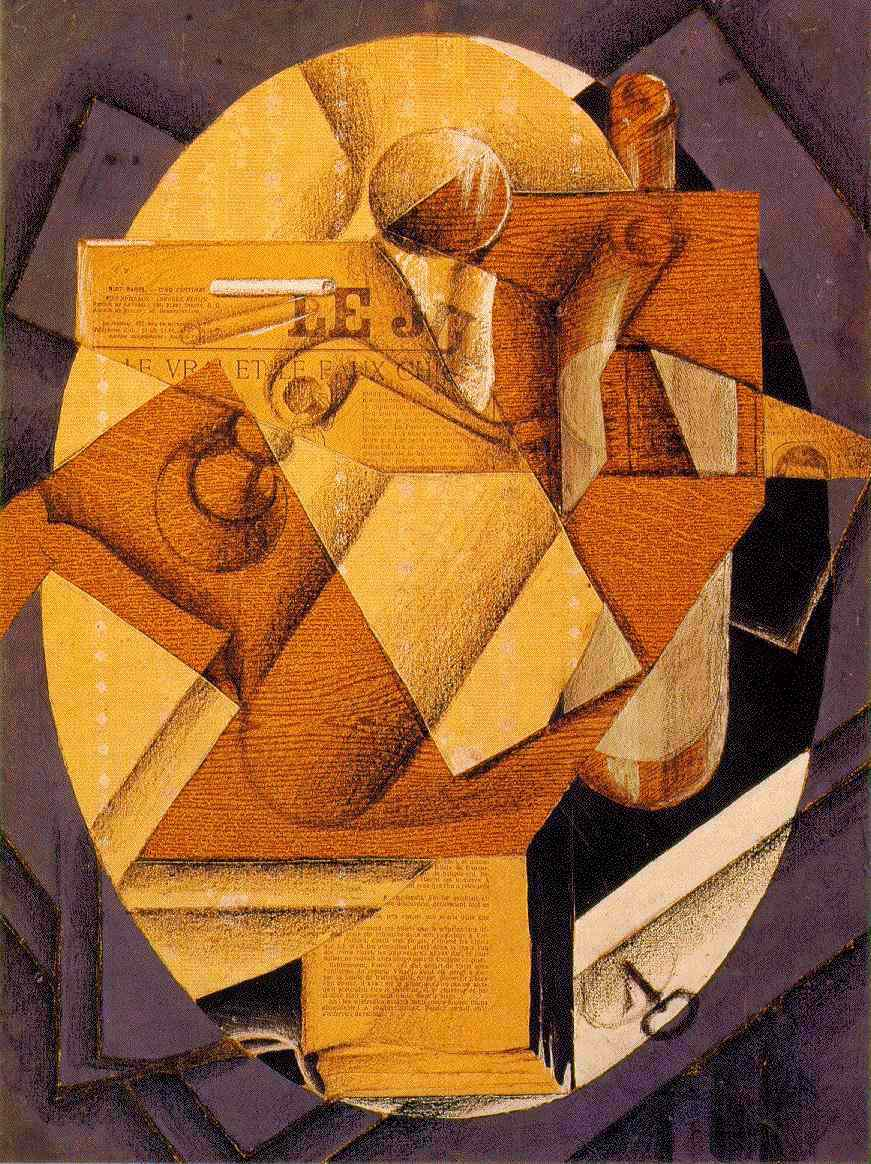 The Table, 1914 #spanishart #syntheticcubism <br>http://pic.twitter.com/00sdshqA7q