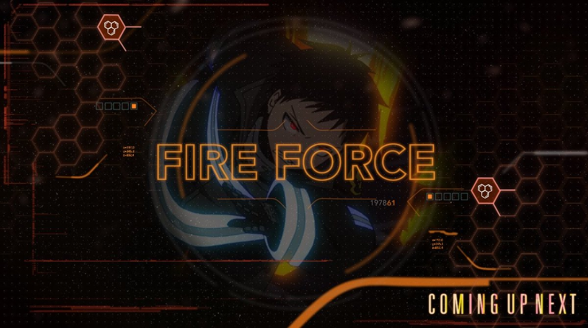 Replying to @ToonamiNews: Coming up next: An all new episode of #FireForce.