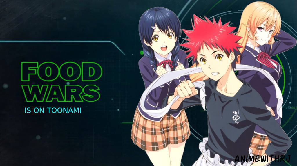 Replying to @AnimeWithRJ: An All New #FoodWars Starts Now on #Toonami