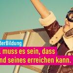 Image for the Tweet beginning: #TagDerBildung: Wir wollen fatalen Zusammenhang