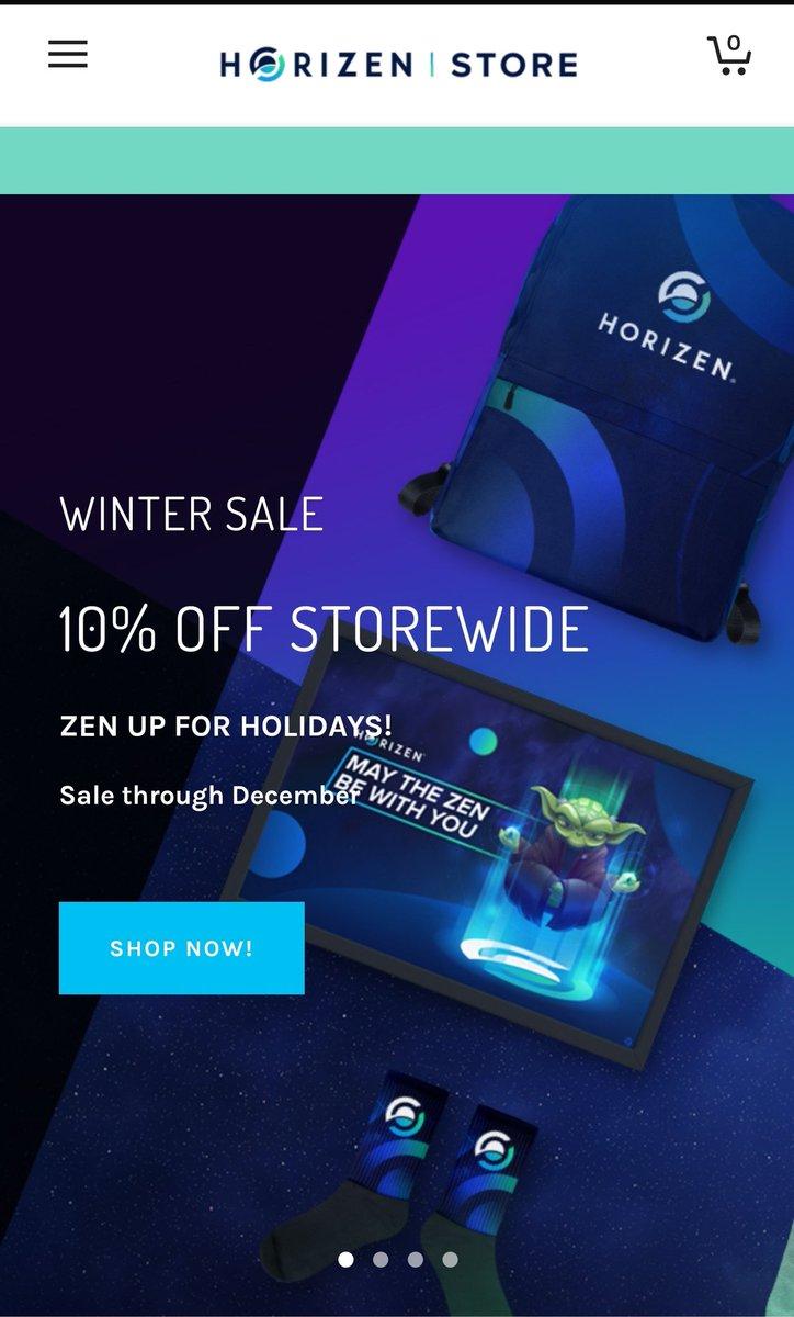 Grab #Horizen official merchs and swags here:   - 10% off Winter Sale - through December 2019  @horizenglobal #blockchain #merchandise #winter #swags #style #cryptoshirt $ZEN