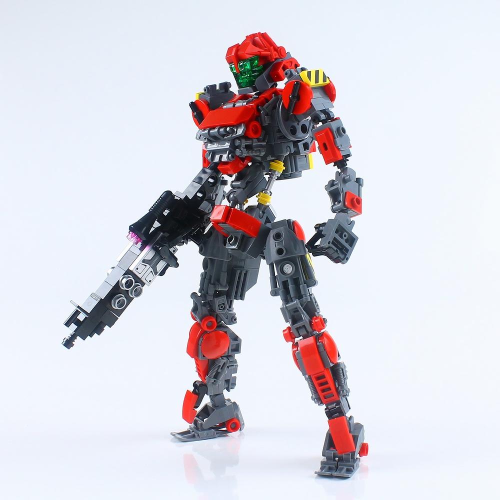 LEGOロボ/Red01 : レゴ道