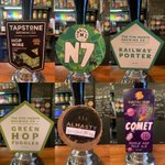 Image for the Tweet beginning: Cask! @TapstoneBrewCo @HammertonBrew @FivePointsBrew @AlmastyBrewCo