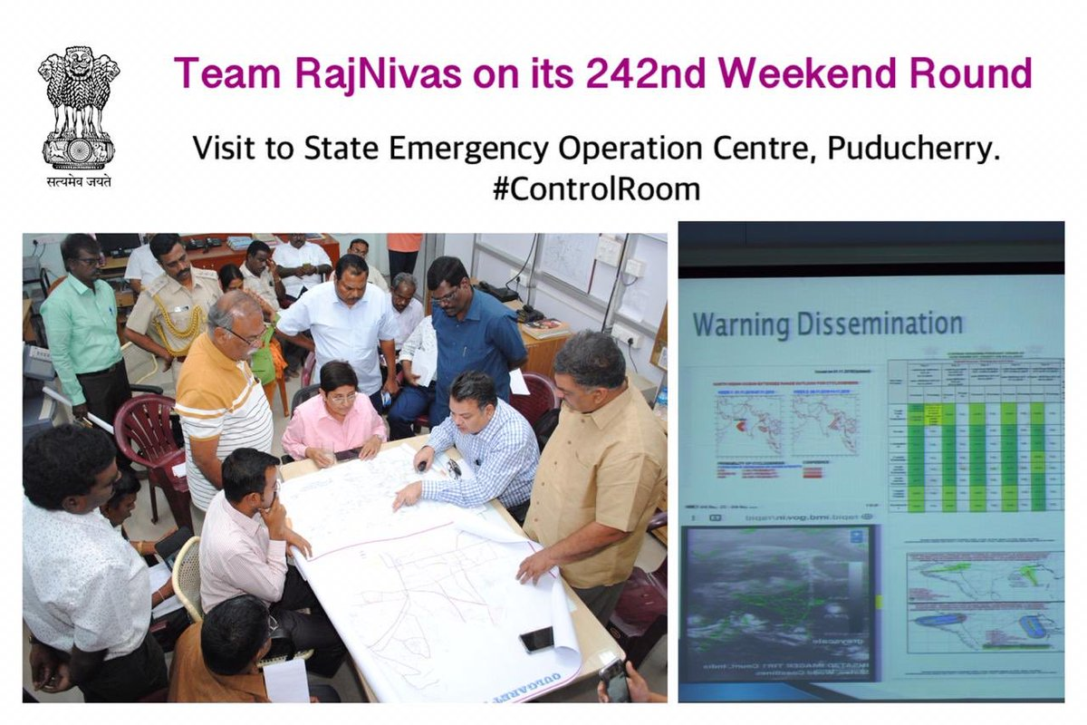North East monsoon review was conducted to study areas of further correction required and identify managment + engineering solutions for the remaining period + required long term technical solutions. A 'To DO' list will be presented by Director Disaster Managment this month end.