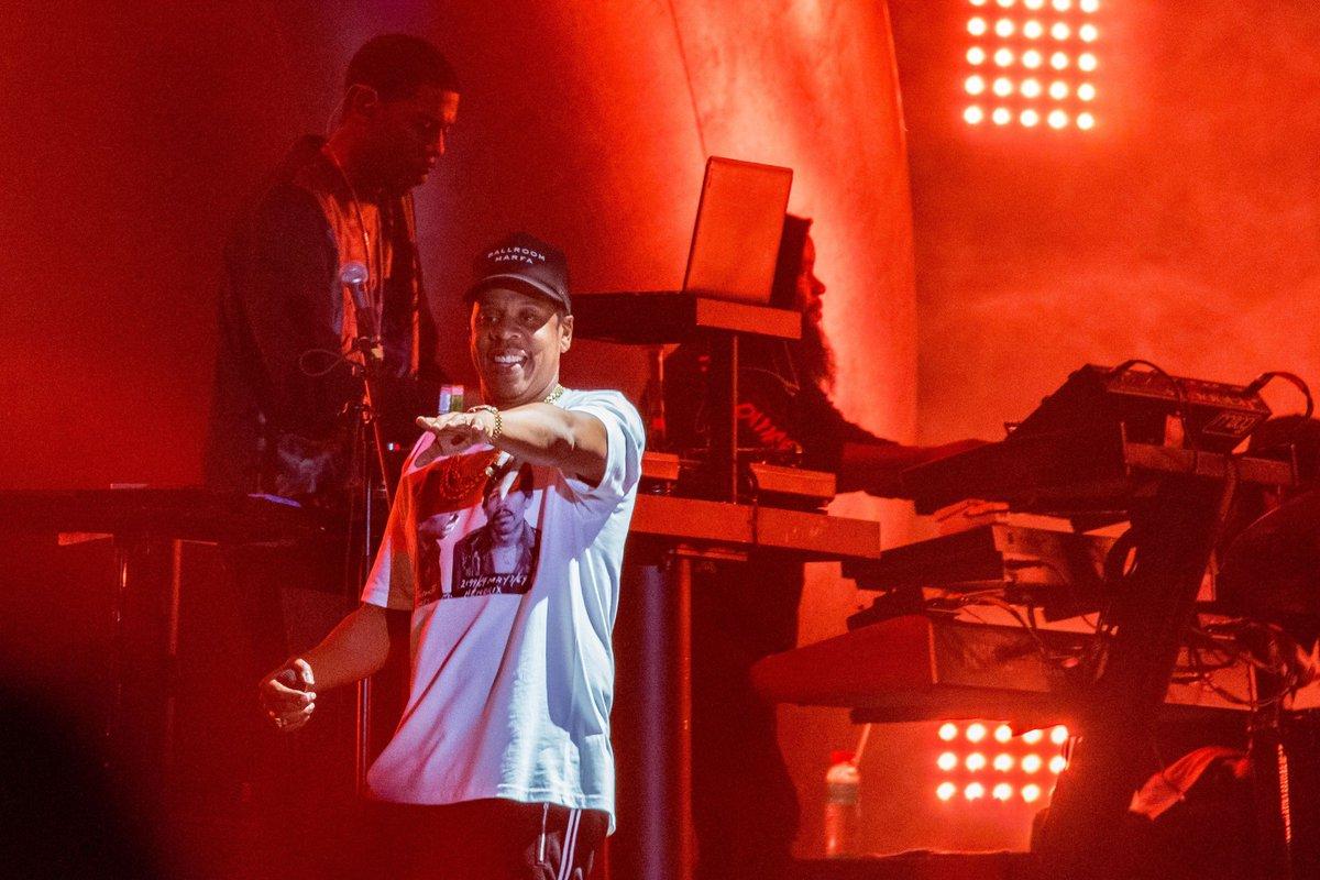 Jay Z returned to Spotify