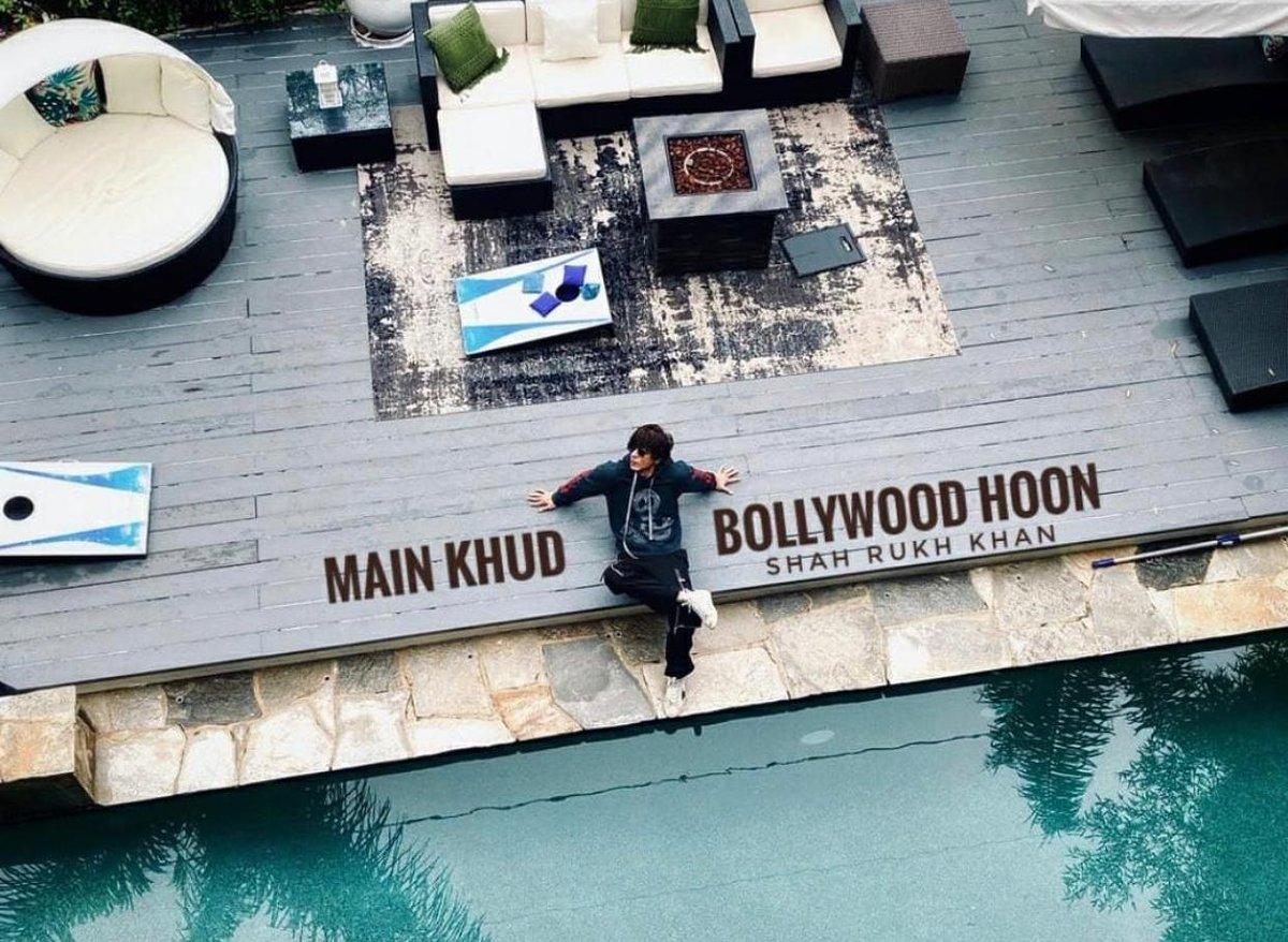 @iamsrk main khud Bollywood Hoon #SHAHRUKHKHAN