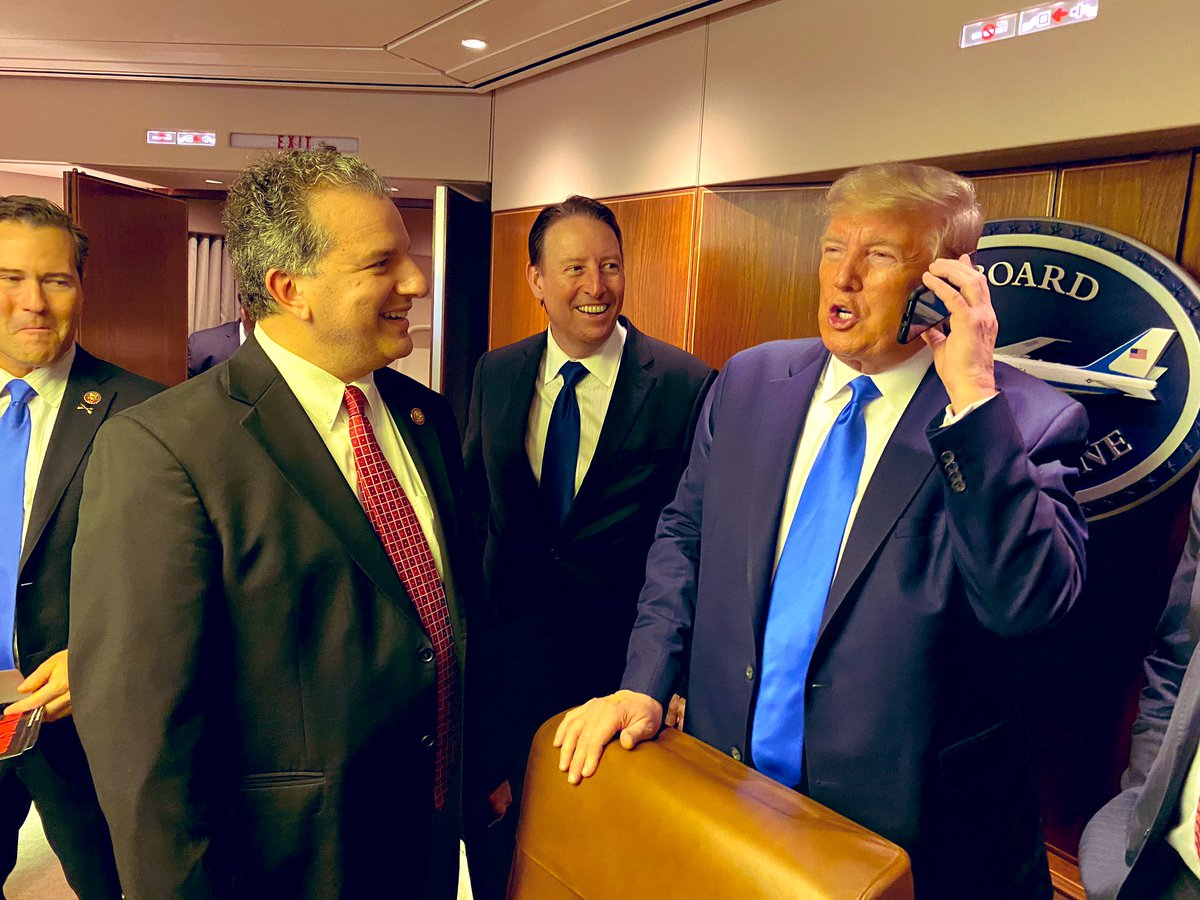 Best surprise I could ever give my 84 year old mother, a delightful call from @realDonaldTrump from Air Force One. Thank You Mr. President! #flapol