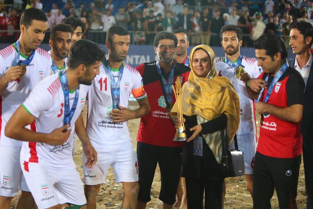A bright future ahead of Iran beach soccer team: Paria ShahriariTehran Times  http:// dlvr.it/RKtXX7    <br>http://pic.twitter.com/QdNSsacfkR