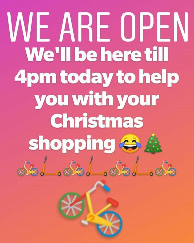 Need bikes or scooters for Christmas? We're here till 4pm today with bikes from @giantuk @livcycling @sebikes @squishbikes Python, and @formebikes#cycling #bike #roadbike #mtb #hybrid #commute #cyclecommuter #localbikeshop #wallington #carshalton #Croy… https://ift.tt/2LxyrNh