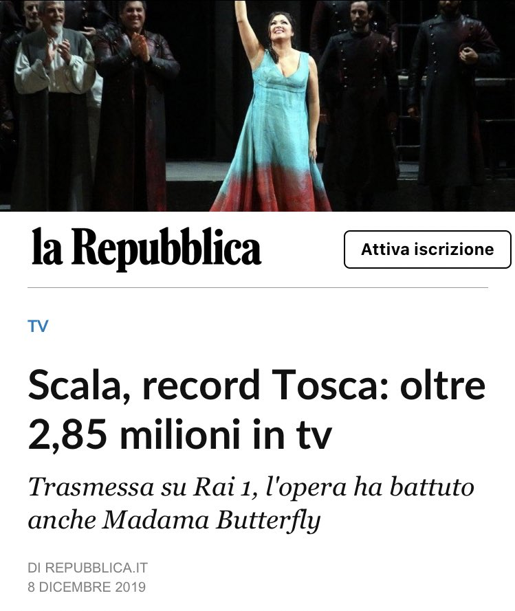 #Tosca