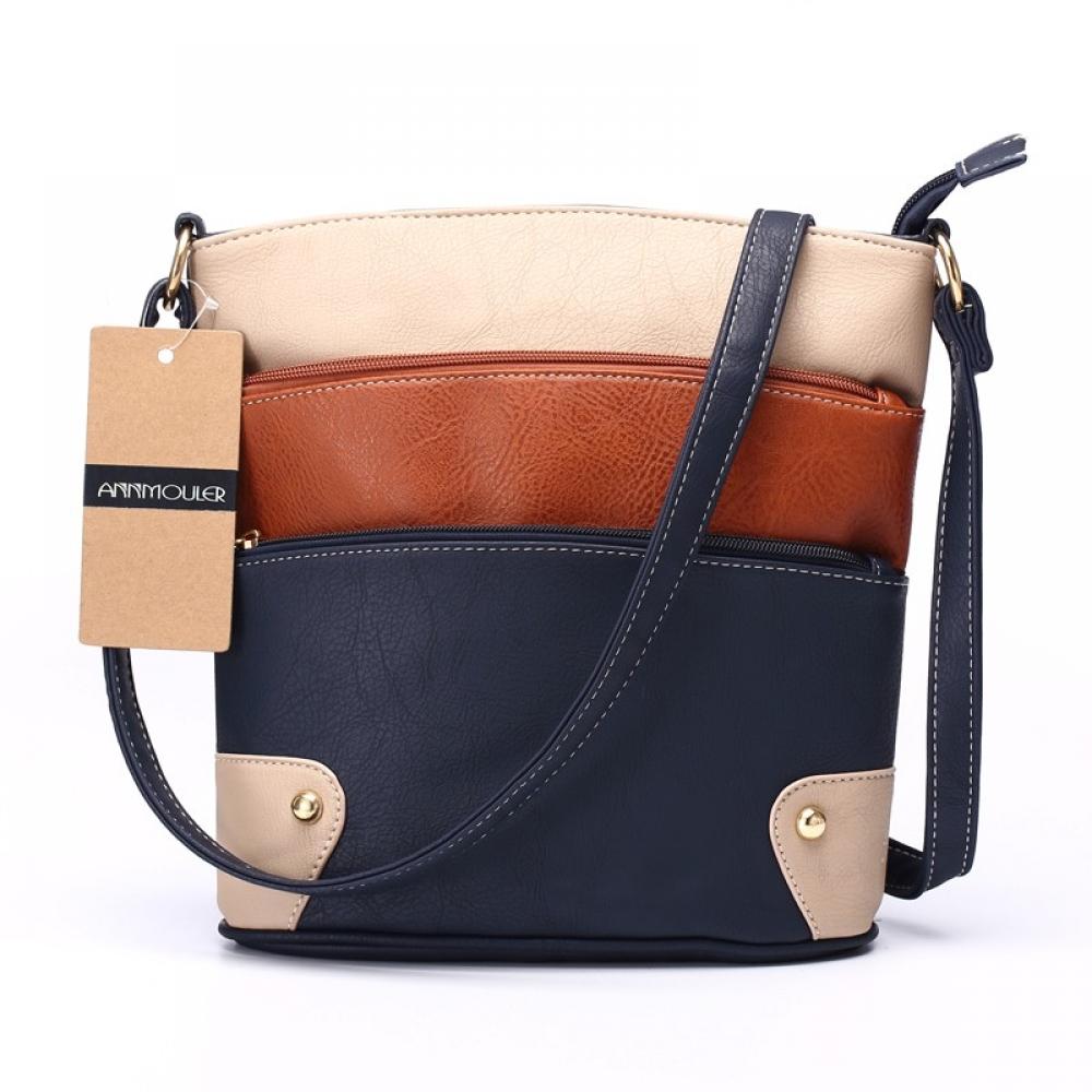 #fun #outside Women's Patchwork Shoulder Bag