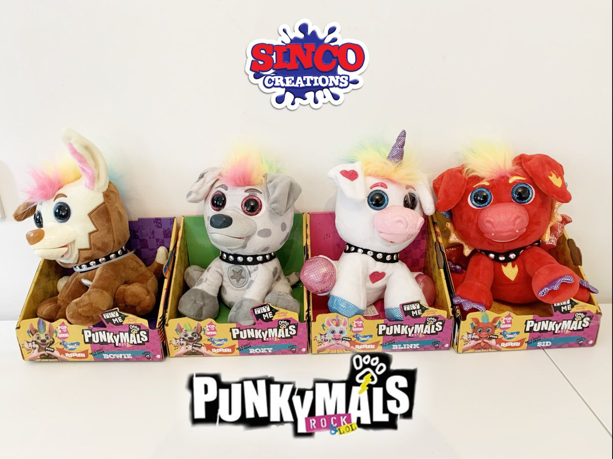 The Punkymals are here!  A band of scruffy, cute pups that will Rock! your world! @SincoToys   #Punkymals #smile #happy #toys #kids #toy #kidstoys #toycollector #collectibles #collectables #kids #fun #girl #boy #love #awesome #style #kidsfashion #fashion #fashionkids #cute