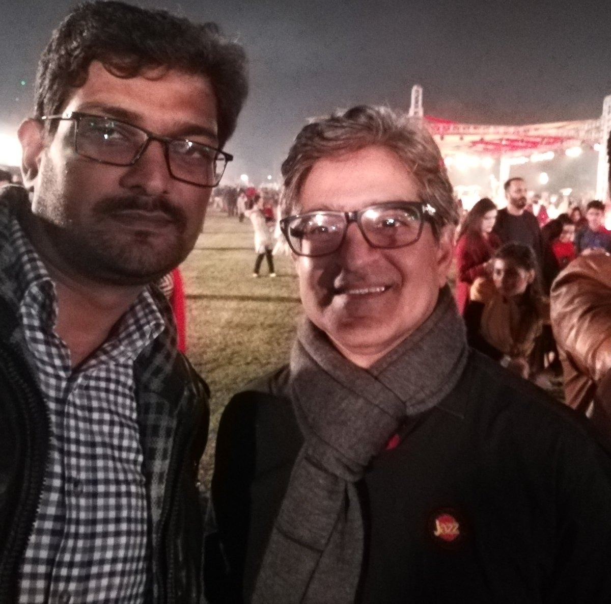 A Casual Meeting with Jazz CEO, Mr. Aamir Ibrahim @ Governor House Lahore.  #Jazz #CEO #governor #House #Leadership #ELITE #Fun #Musical #JazzGala #JazzreUnite #Amazing #wonderful #Telecommunications #Business