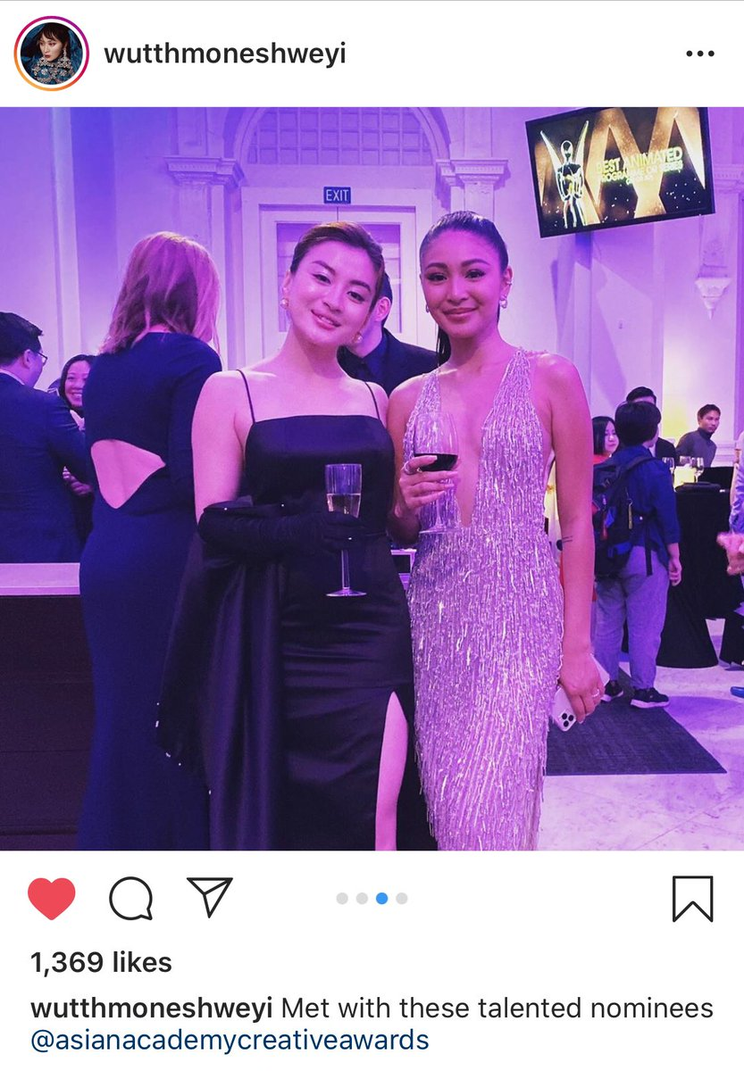 Finallow din nya si nadine  Met with these talented nominees @asianacademycreativeawards wutthmoneshweyi  Nadine Lustre #YourMomentBigTwist<br>http://pic.twitter.com/DptEMQY50H