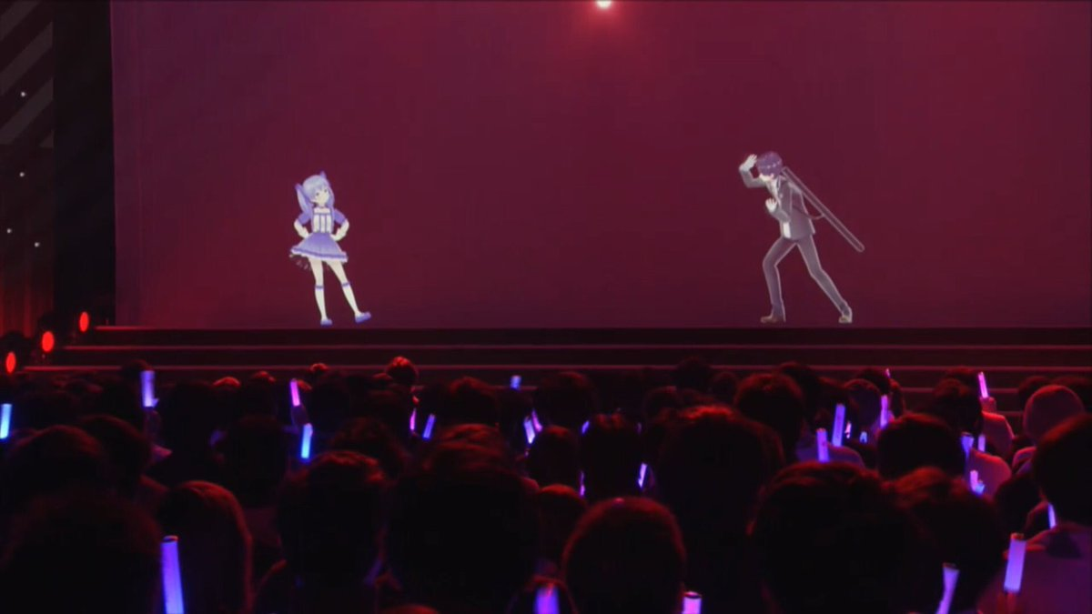 両国ライブお疲れ様でした!こんな大舞台でたくさん歌わせていただけてとても幸せでした!みんな最高に可愛いし格好いいし、本当に素敵なライブだった...!改めて本日はありがとうございました!次は福岡でお会いしましょう画像は「ちーちゃんの規格外のオーラに圧倒される剣持」