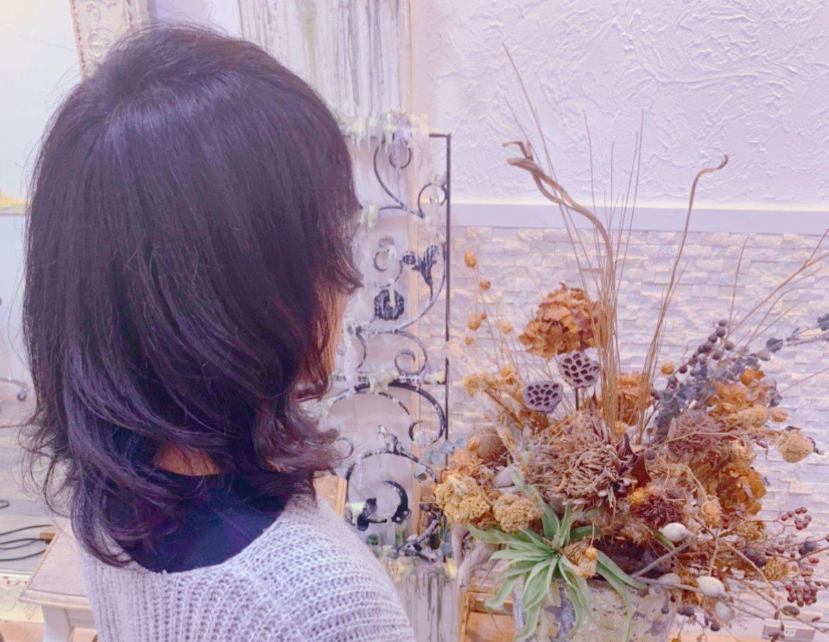 順調に髪が伸びている。