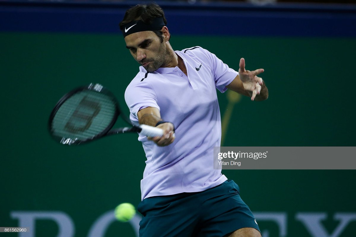 No. 8 Results in it: Shanghai, Basel , ATP Finals SF Brand: Nike I love the color of the shorts again and when I see it, I immediately think of fantastic first strike-tennis as Fed played some good stuff in these Shanghai and Basel campaigns. <br>http://pic.twitter.com/q74j2wXGZ1