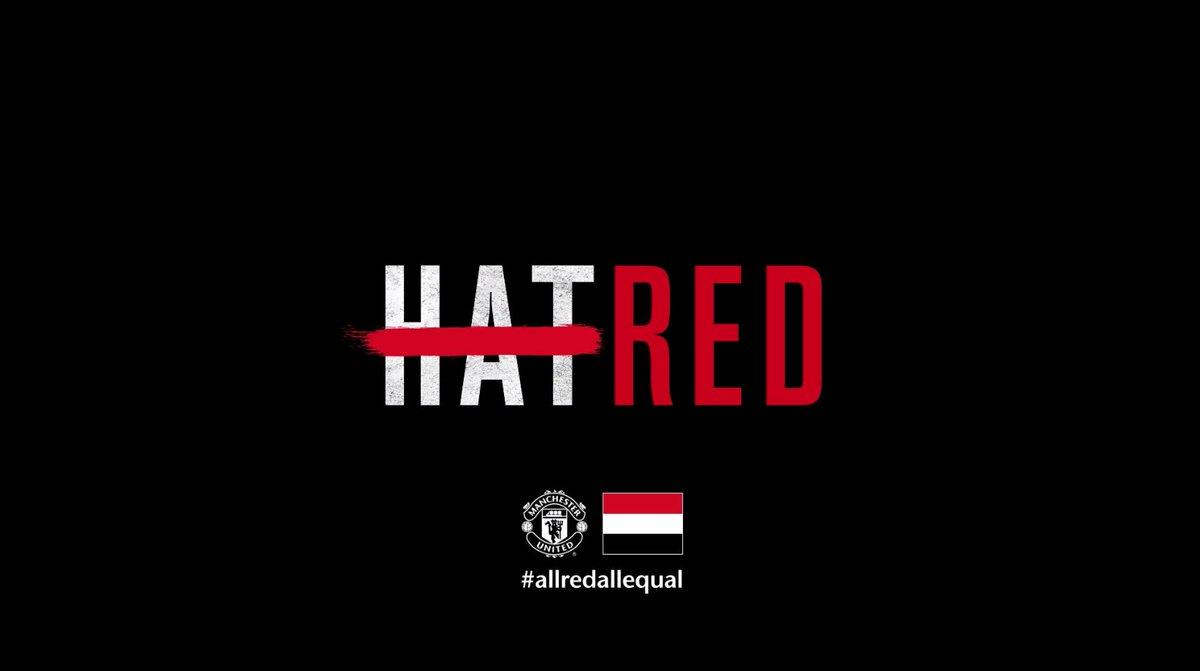 O United reafirmando a luta contra o racismo não só no futebol mas como em toda a sociedade. O clube disse que está apoiando os jogadores que foram vítimas ontem e que continuará a combater todo e qualquer tipo de discriminação.