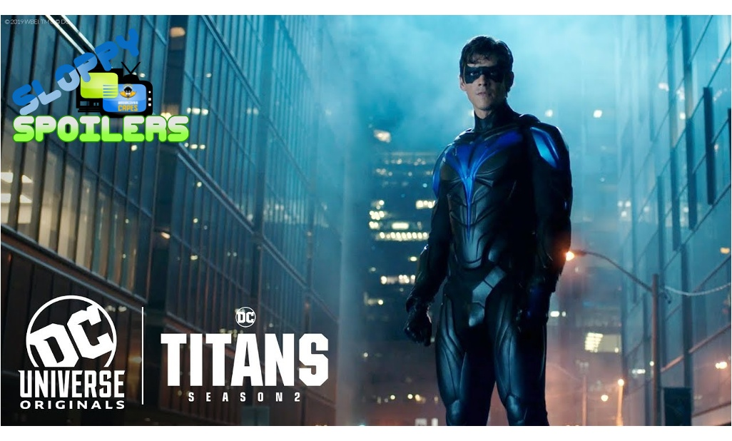 Tune in to a NEW #SloppySpoilers with host @DT2ComicsChat and co-pilots @NemesisFC2 & @Bracey452 as they discuss the Titans S2 finale only on #UCPN! @DCComics #podcast #TV http://ow.ly/mls930pZUd2pic.twitter.com/Rk7jkuHhiE