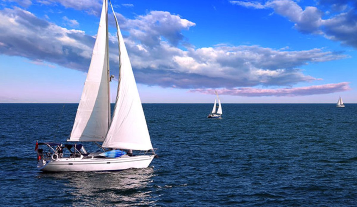 """God provides the wind, but man must raise the sails."" - St. Augustine #ThoughtOfTheDay <br>http://pic.twitter.com/BDXbN652Hd"