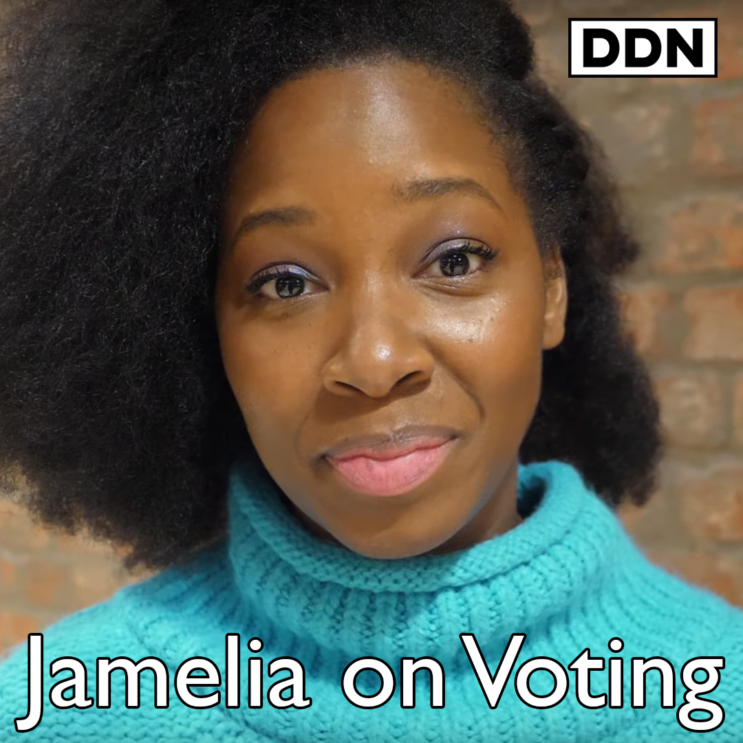 """My daughter stop breathing for 4 minutes when she was 5 days old, if it wasn't for the NHS she would not be here today"" Singer @Jamelia on why she's voting for the first time in her life"