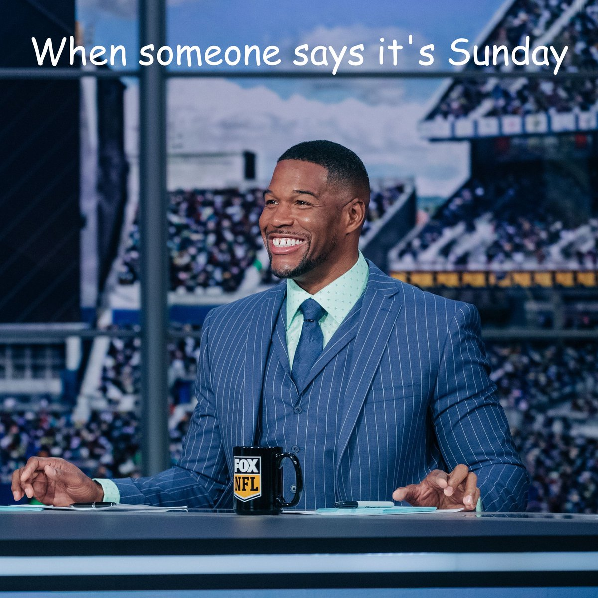 Sunday may be a workday for me, but is it work when you LOVE what you do? @NFLonFOX #Football #Sunday
