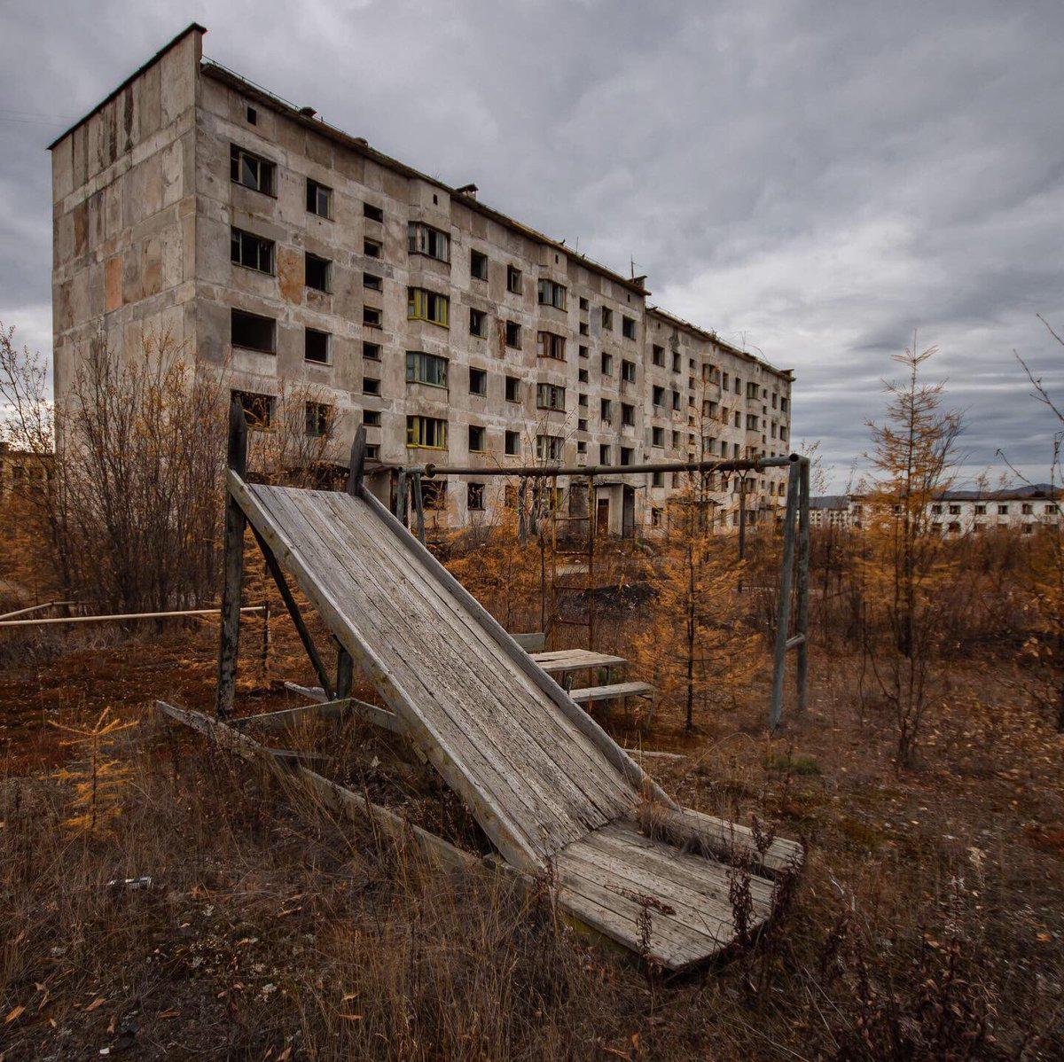 страшно фото заброшенных мест в сибири никакого наказания