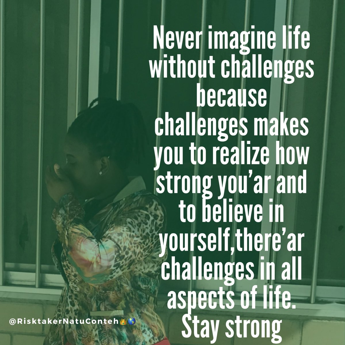 Stay strong  #beautywithboldness #risktaker <br>http://pic.twitter.com/4conY4O3ki