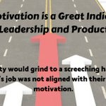 Image for the Tweet beginning: How motivation is a great