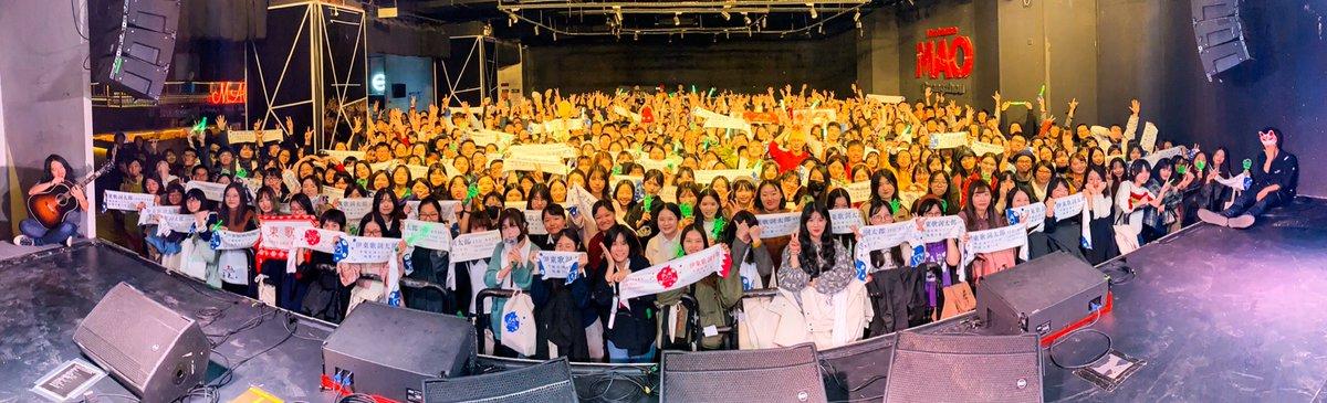 本日は中国の広州市にて!蓋を開けてみたら3年前に行ったときの約3倍の方が来てくださったとのこと…!!来てくれたあなたのおかげで、来年も高い確率で中国に行くことができると思います、謝々!!ライブは言うことなく最高でした、こちらもおかげさまですありがとう!次のライブはもっといい。