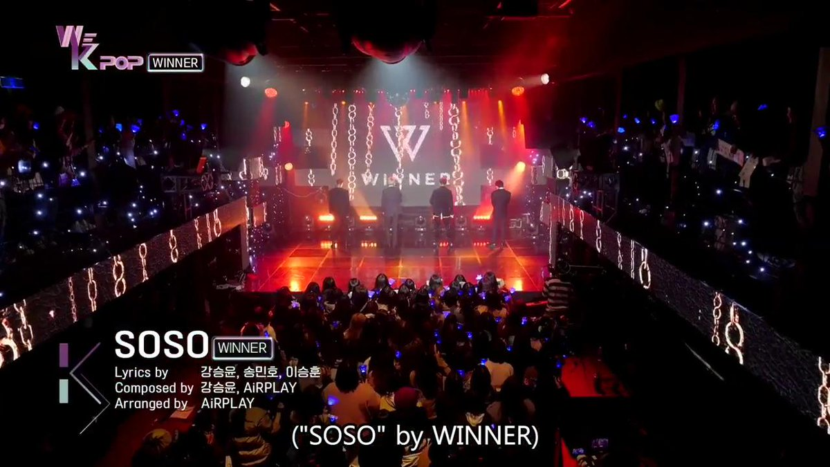 Enjoy the gripping stage of #WINNER #SOSO on #WeKpop #ep21 #kbsworld