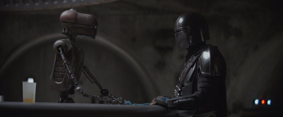 """Replying to @themandalorian: """"I'm not looking for Guild work."""" #TheMandalorian Chapter 5, now streaming on #DisneyPlus."""
