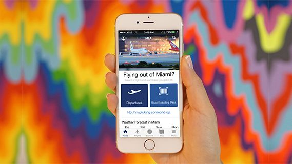 Its the last day for @ArtBasel. Before saying adieu to Miami, download our state-of-the-ART app, MIA Airport Official for the latest information on shopping, dining, and more!