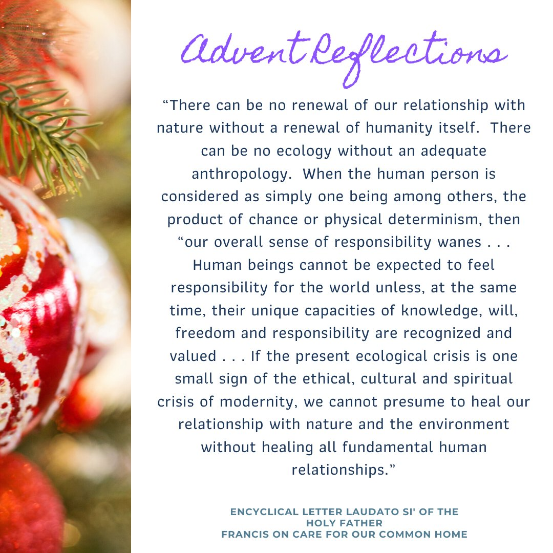 test Twitter Media - How do I value both my relationships with other people and my relationship with the environment?  Find weekly reflection guides and Advent Calendar on our website: https://t.co/82G1d2EQb8. #Advent #LaudatoSi https://t.co/ocJJducMjM