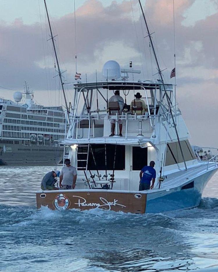 San Juan, PR - Panama Jack went 1-1 on Blue Marlin and 0-1 on White Marlin.