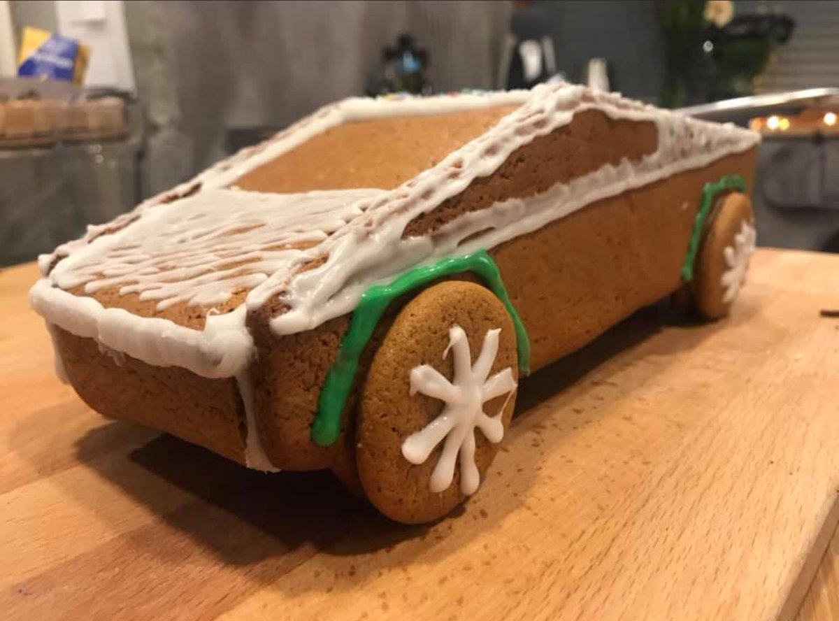 Dan Aka Spotted Model Nft On Twitter Show Us Your Tesla Cookies This One Cybertruck Courtesy Janne Mikael Hartikainen Of Facebook