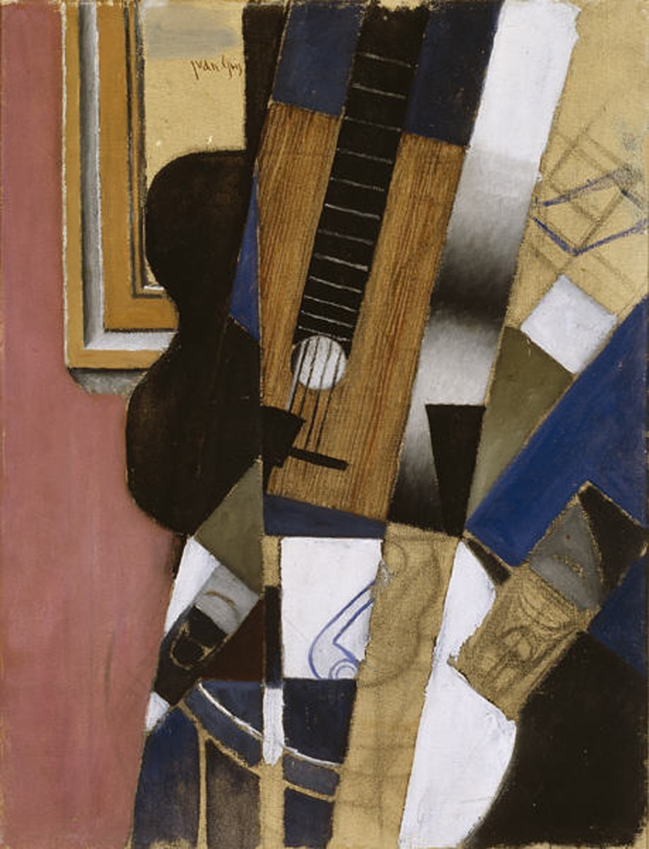 Guitar and Pipe, 1913 #juangris #spanishart<br>http://pic.twitter.com/fajWMJueOS