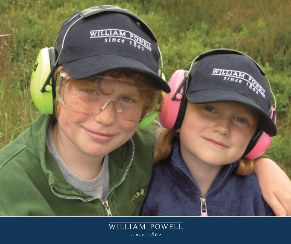 Always make sure that your children's hearing is well-protected on shoot days and at clay grounds with these brilliant high-visibility ear defenders. They make great Christmas stocking fillers too!  https:// wpowell.uk/KidsEarDefende rs  …    #ShootingSeason #EarProtection #WilliamPowell<br>http://pic.twitter.com/UpcFjBKPZn