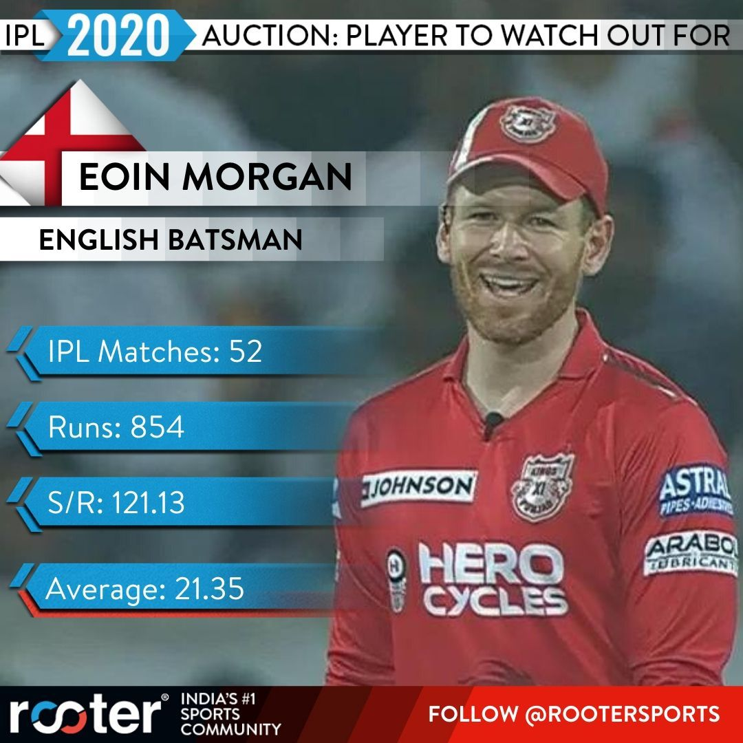 Will the English captain find any takers at the #IPL2020 auction?  #EoinMorgan #INDvWI #IPL #IPLAuction<br>http://pic.twitter.com/0oZtSo6Kwf