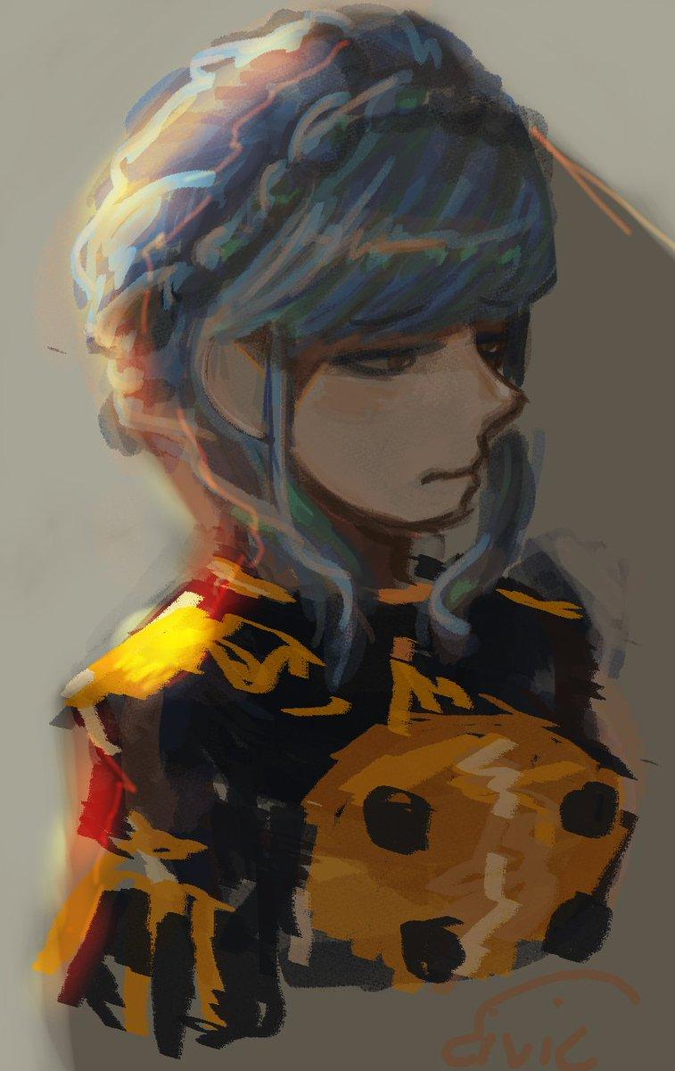 pen pressure died so I drew Marianne #FireEmblem3Houses <br>http://pic.twitter.com/Bd47E2UV6W