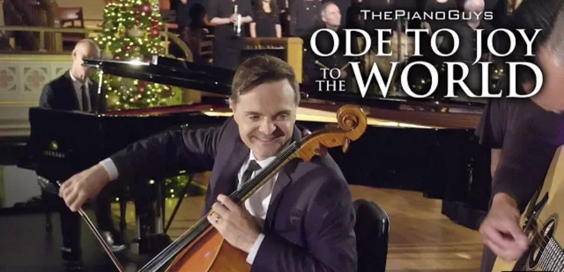Ode To Joy To The World (With Choir & Bell Ringers) The Piano Guys  https:// youtu.be/JyVEKsNFDjw    <br>http://pic.twitter.com/kv9c6Qy4h9