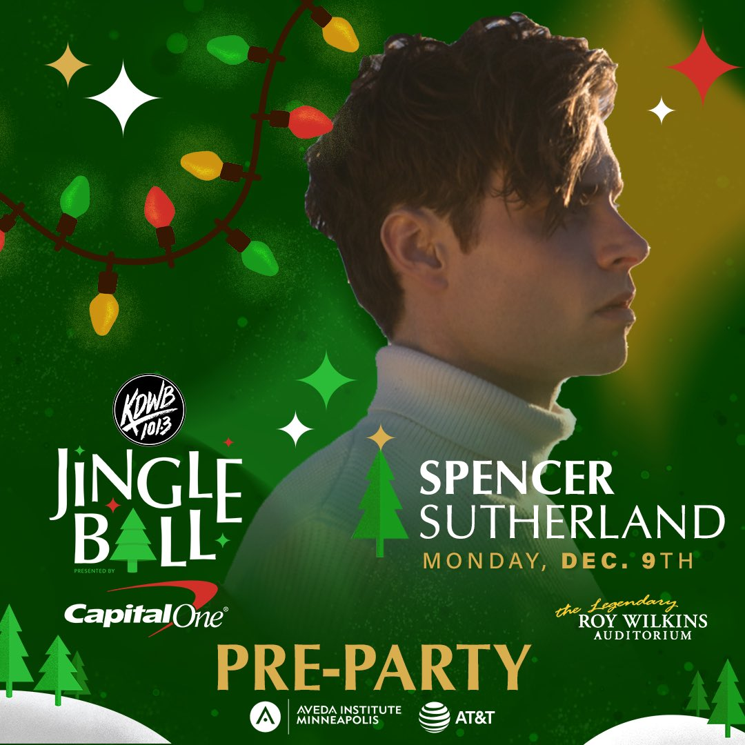 RT to meet @spencermusic at our #KDWBJingleBall pre-party!! https://t.co/itmZYMiZjm