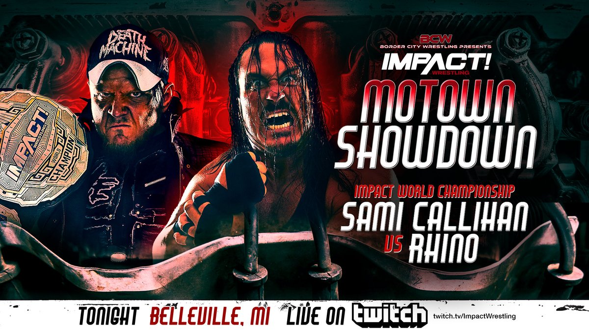 Impact Wrestling's Motown Showdown Results: Sami Callihan Vs. Rhino, Brian Cage In Action