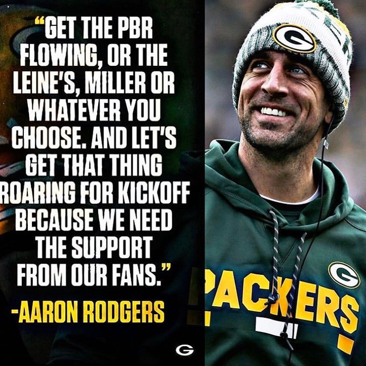 I have a feeling Wisconsin is going to have a big Funday Sunday!  #GoPackGo