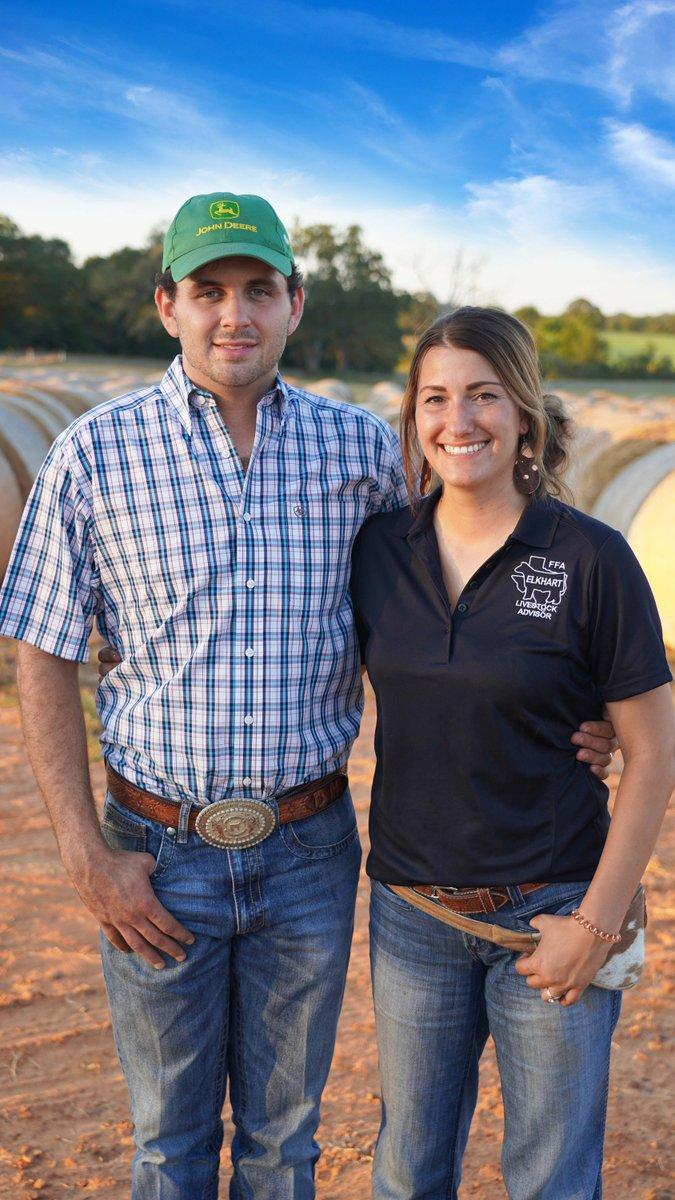 Congratulations to Anderson County couple Braden & Jordan McInnis on being named 2019 @TexasFarmBureau Outstanding Young Farmer & Rancher! #txlege #txfbmeets